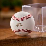 Personalized Classic Rawlings Baseball In Case