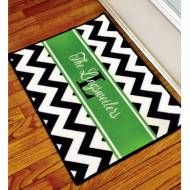 Monogrammed Indoor Outdoor Floor Mat