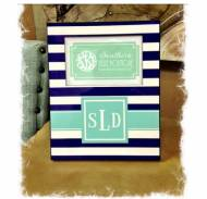 Monogrammed 8x10 Photo Frame So Many Cute Patterns