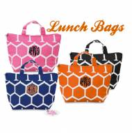 Monogrammed Insulated Lunch Tote In 7 Colors