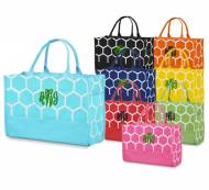 Monogrammed Bee Line Open Tote In So Many Colors