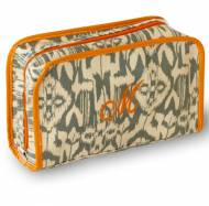 Monogrammed Ikat 2 Piece Cosmetic Cases In 3 Colors