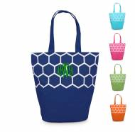 Monogrammed Canvas Beach Tote In 7 Great Colors