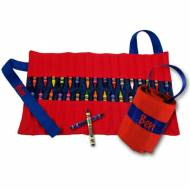 Red And Blue Crayon Keeper
