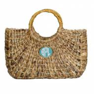Wimberly Monogrammed Medium Boat Tote With 14 Monogram Colors