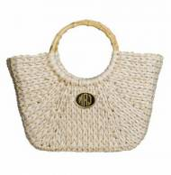 Monogrammed Large Straw Tote With 14 Color Choices