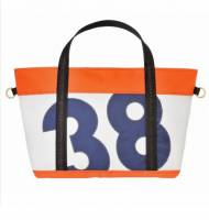 Ella Vickers Large Zippered Tote With Oversized Personalization