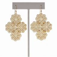 Day Filigree 18kg Plated Earring