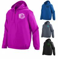 Monogrammed Avail Pullover In Pink , Blue And Black