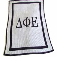 Greek Sorority Customized Knit Blanket