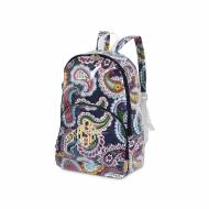 Monogrammed Paisley Park Backpack