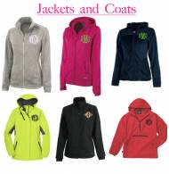Monogrammed Jackets And Coats