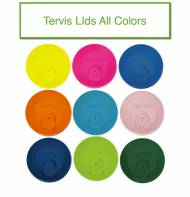 Tervis Tumbler Travel Lids Only - Six Great Colors- No More Coffee ...