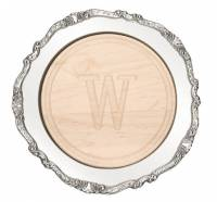 Personalized Round Maple Cutting Board In  . . .