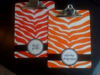 Lovie And Dodge Personalized Clipboards