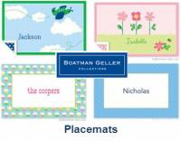 Boatman Geller Laminated Placemats