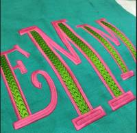 Monogram Gallery From The Pink Monogram   . . .