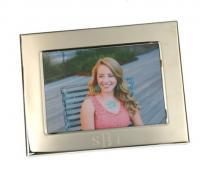 Monogrammed Silver Classic Frame - 5 By 7  . . .