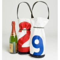 Ella Vickers Sailcloth Wine Bag With  . . .
