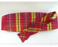Preppy Holiday Plaid Silk Bow Tie And  . . .