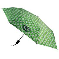 Monogrammed Lime Circle Umbrella