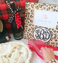 Monogrammed Silver Picture Frames