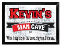 Personalized Official Man Cave Pub Sign