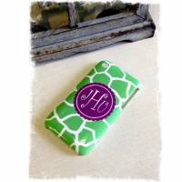 Monogrammed 3D Cases For IPhone 6, 5, 4, 3  . . .