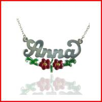 Child's Sterling Silver Name Necklace  . . .