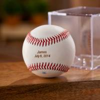 Personalized Classic Rawlings Baseball In  . . .