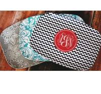 Monogrammed Melamine Platters 10x14 Inches