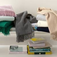 Matouk Soledad Cashmere Soft Lambswool And  . . .