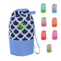Monogrammed Camp Duffel All Colors
