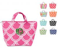 Monogrammed Insulated Lunch Tote In 9  . . .