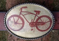 Loopty Loo Bicycle Belt Buckle