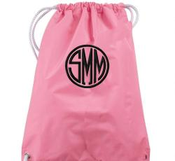 Favorite Monogrammed Drawstring Backpack -  13 New Colors!