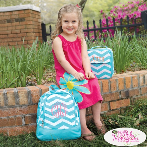 Monogrammed Back To School Sets