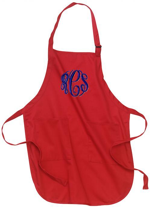 monogrammed chef u0026 39 s apron
