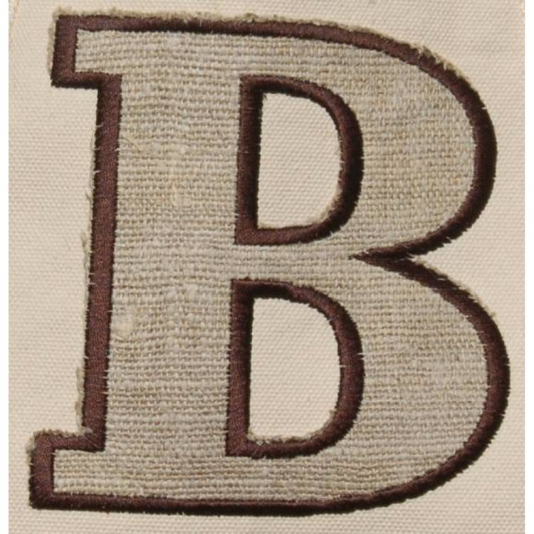 Varsity Letter Applique Queen Bea Monogrammed Gg Tote With Applique
