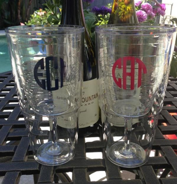 personalized tervis tumbler wine glass