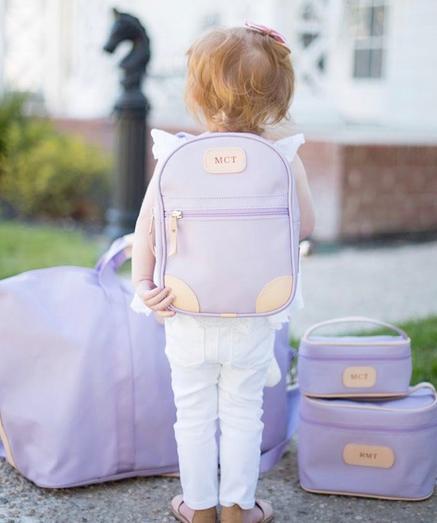 jon hart monogrammed mini back pack