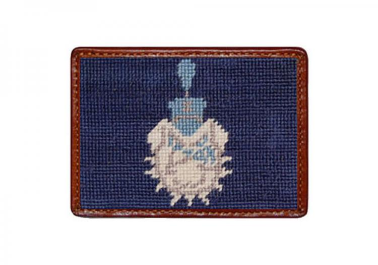 smathers and branson the citadel needlepoint card leath