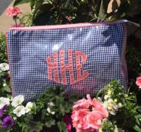 Monogrammed Medium Cosmetic Case By Talley Ho Designs