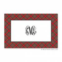 Plaid Red Placemat