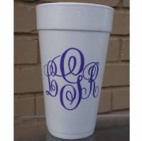 Personalized Foam Cups 24oz