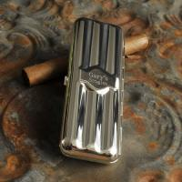Silver Plated Travel Cigar Case