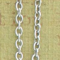 Antique Silver 1.2mm Cable Chain