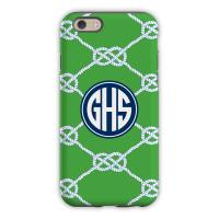 Nautical Knot Kelly Cell Phone Case
