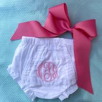 Monogrammed Panty Covers
