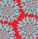 8023 Mums Red